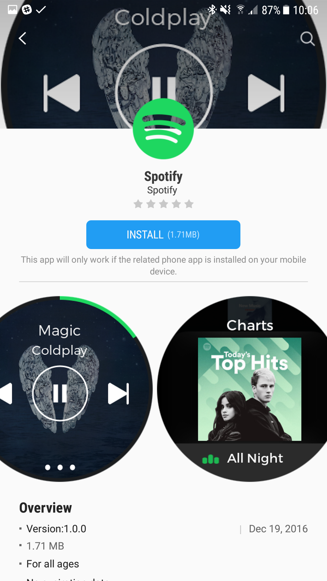 You can now control your Spotify music from the Samsung ...