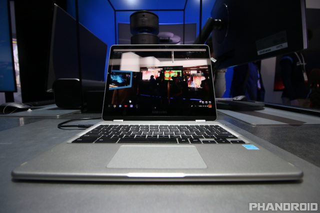 samsung chromebook plus. samsung actually introduced two new chromebook options during ces 2017, however the company has yet to share release information regarding plus