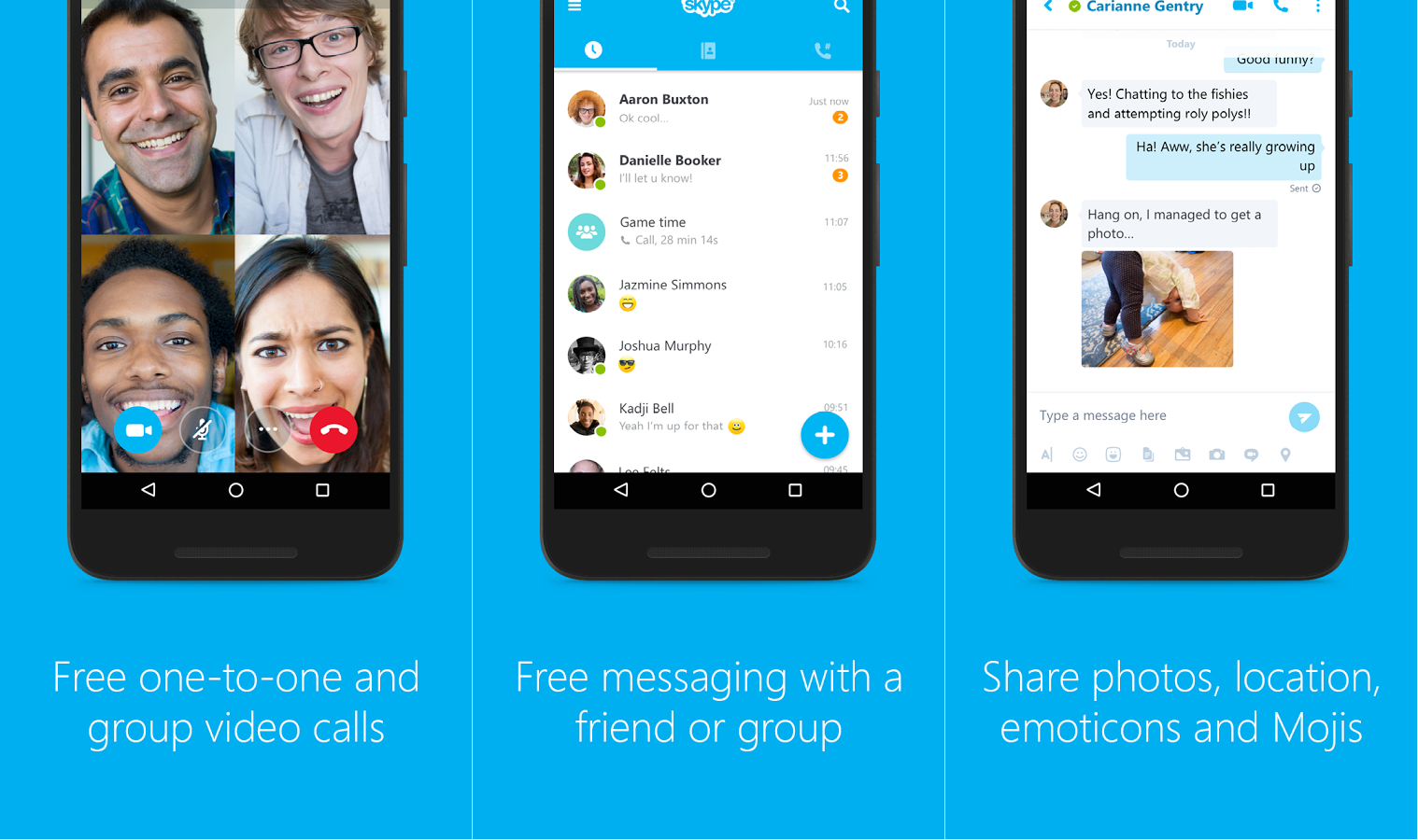Skype dating app