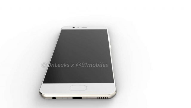 Some New Renderings of The P10 Huawei Shows a Possible Double Curve