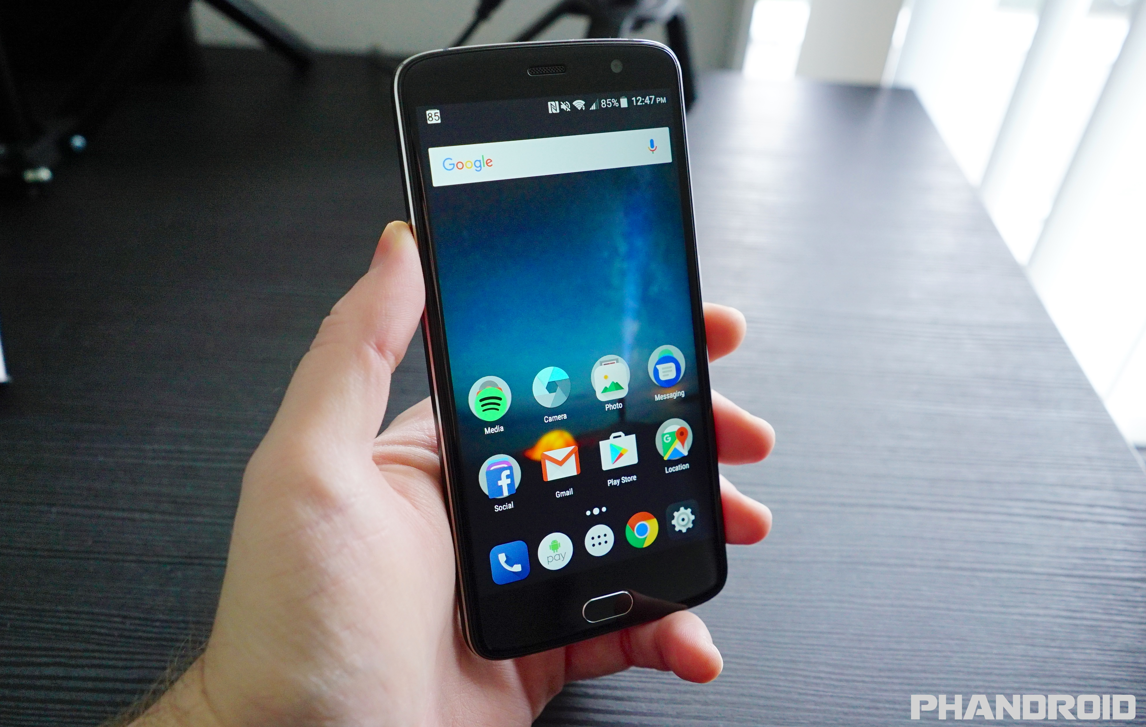 Zte blade v8 pro first 17 things you should do get your app drawer back with stock android launcher biocorpaavc Choice Image