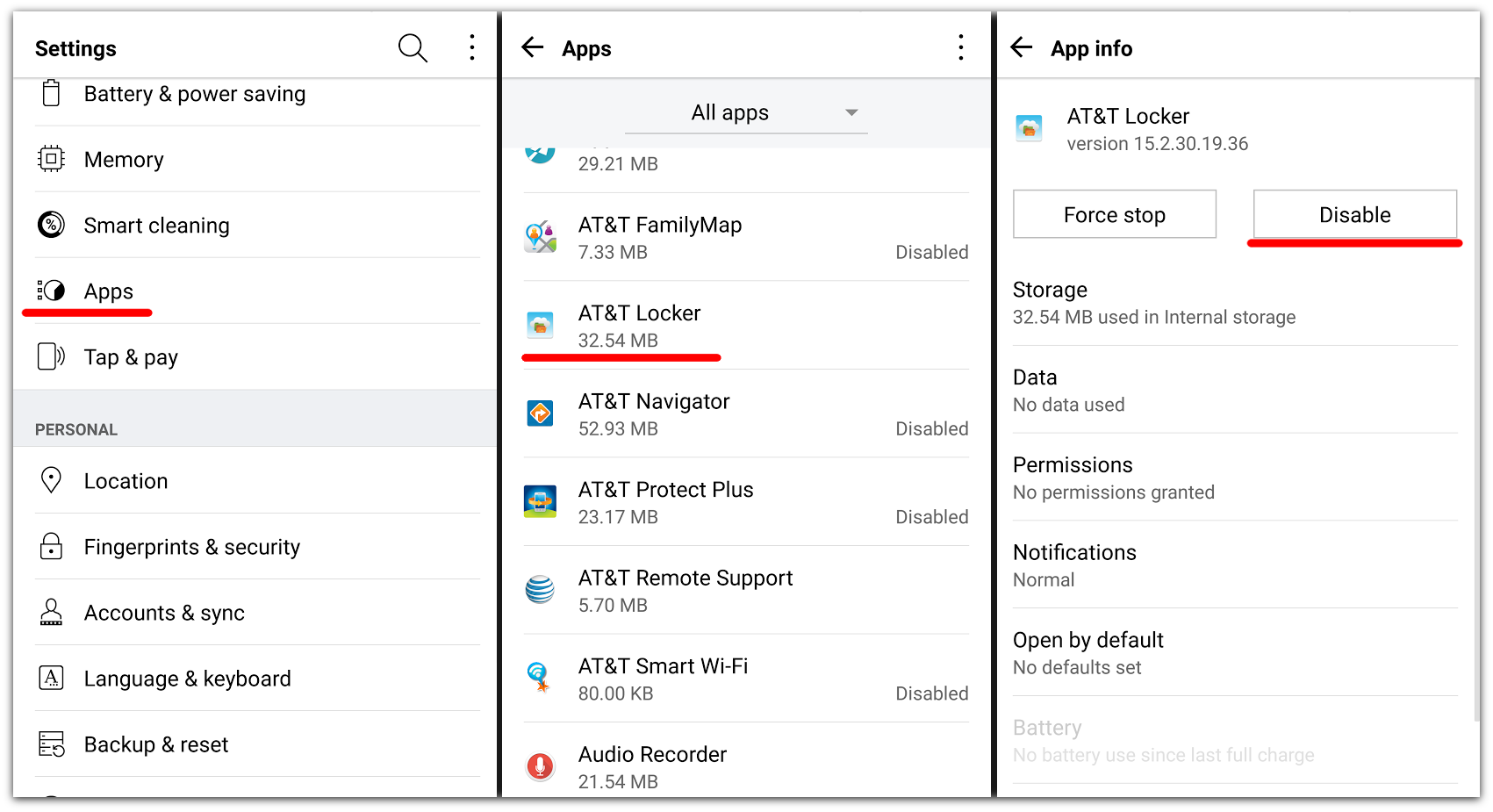 How to remove unwanted apps from your Android phone