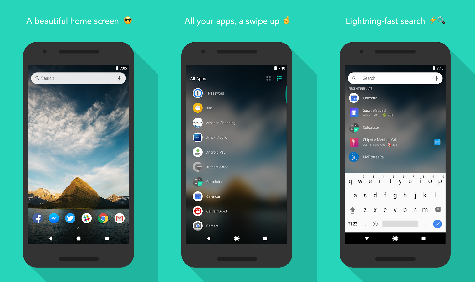 High Quality Evie Launcher Is One Of The Newest Apps On Our List. It Has A Minimalist  Design That Will Remind You Of The Stock Android Launcher.