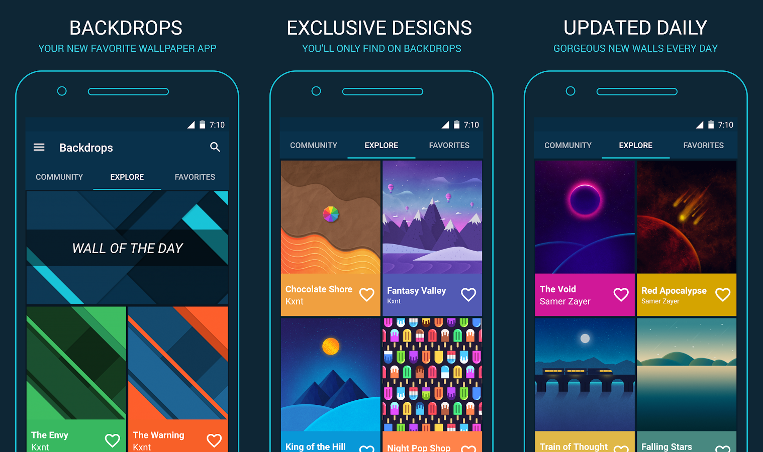 Best Wallpaper Apps For Android Phandroid - 10 best apps people love reading