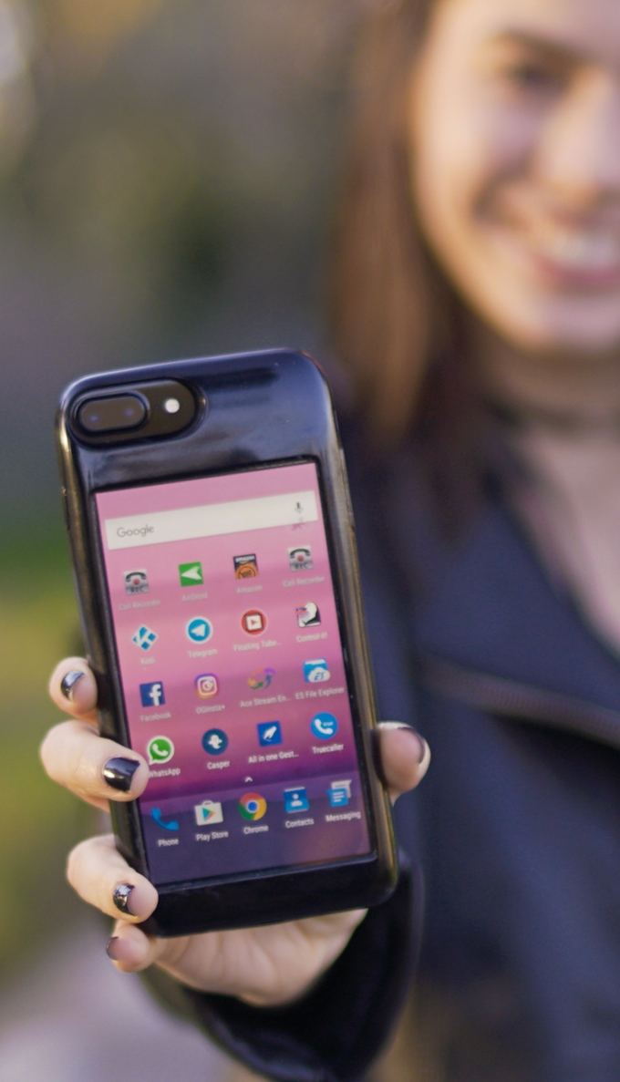 Naked phones feel so good : Android