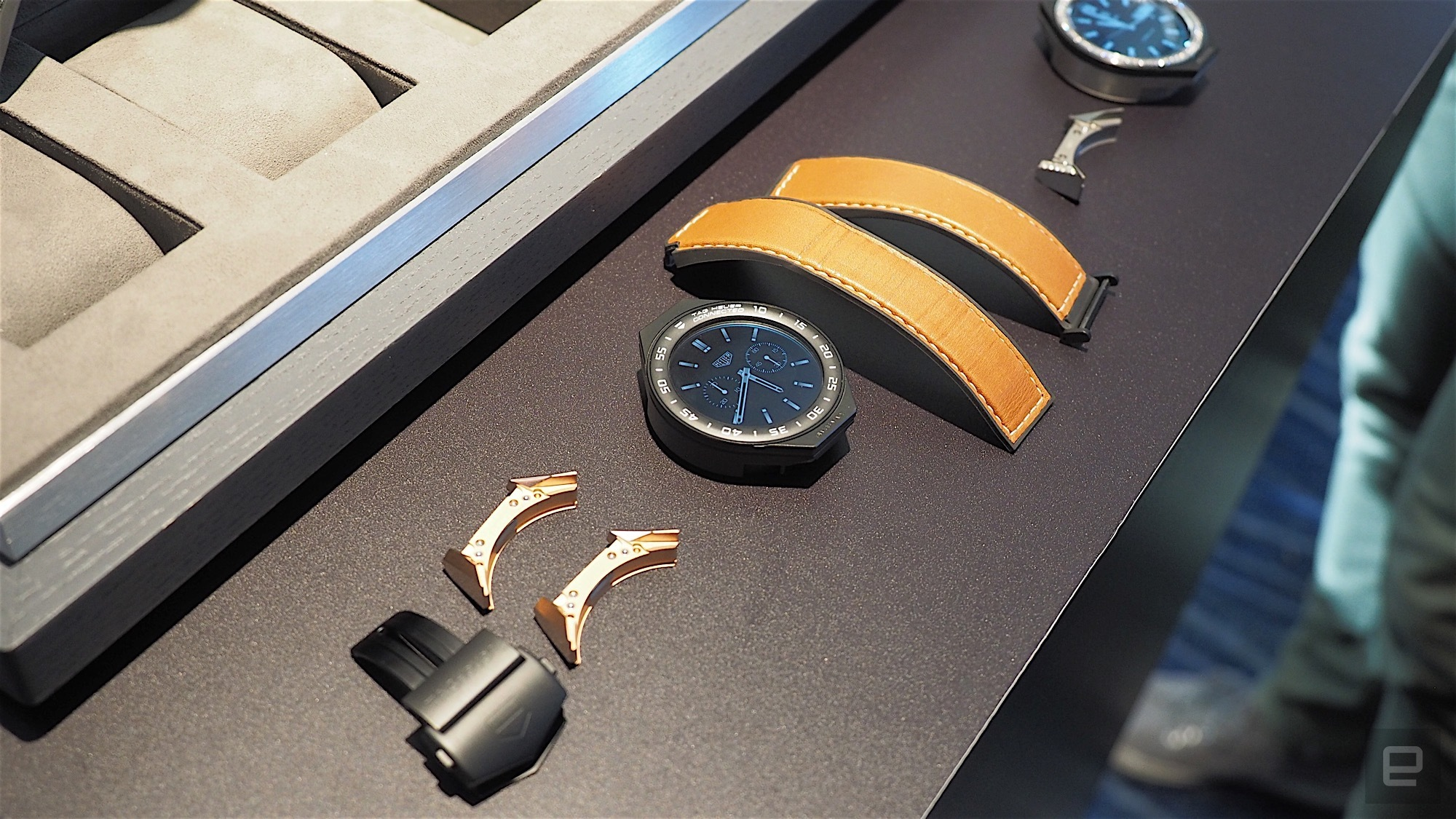 TAG Heuer Connected Modular 45: Design Modular with Android Wear 2.0 for 1,500 Euros