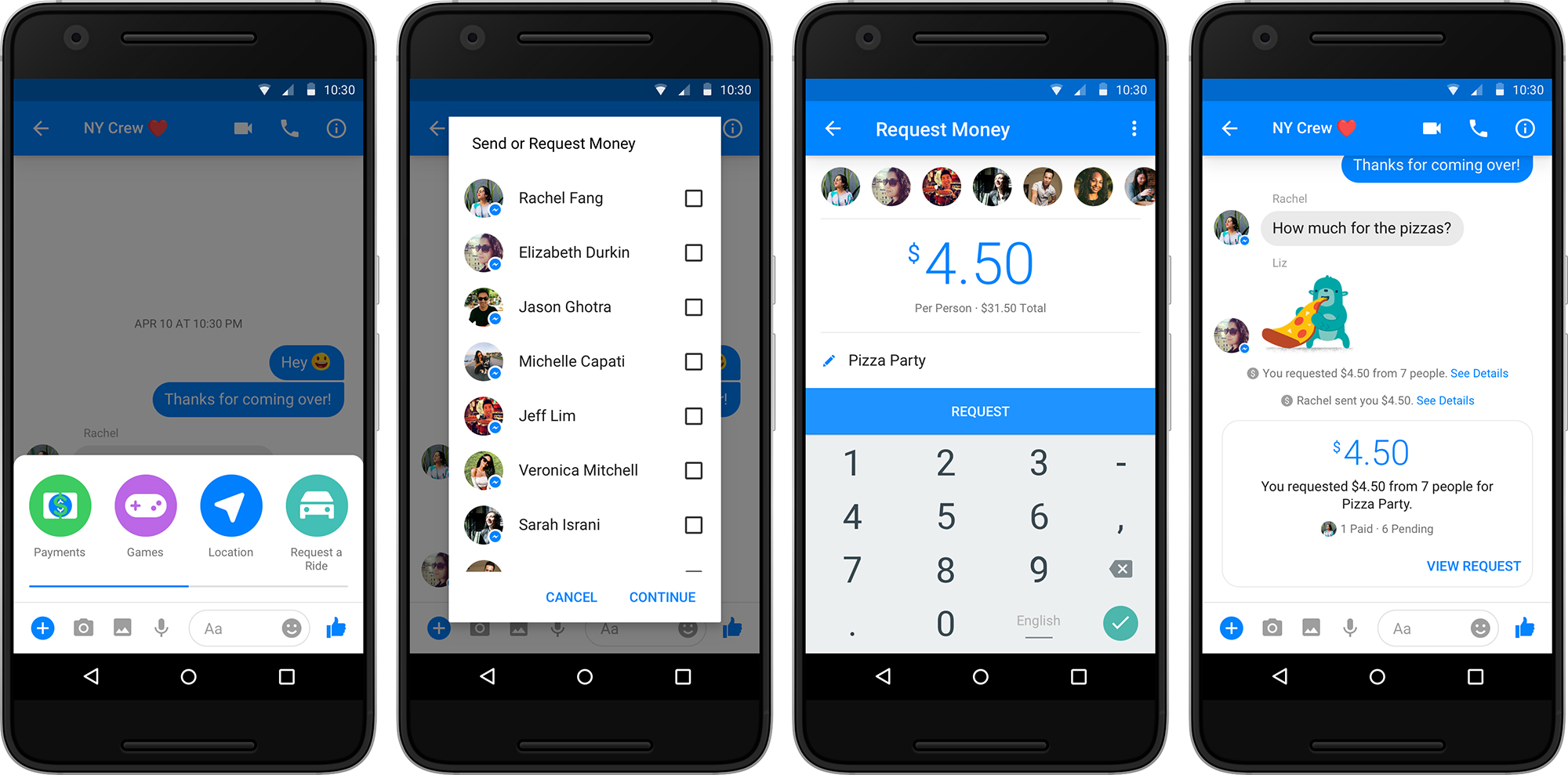 Image result for payment feature in facebook