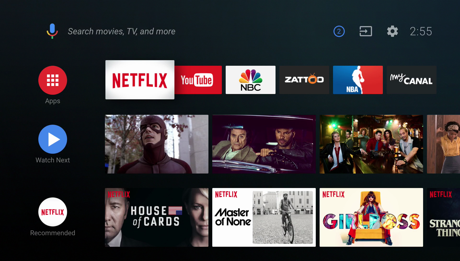 Android O Will Bring A New Ui To Android Tv