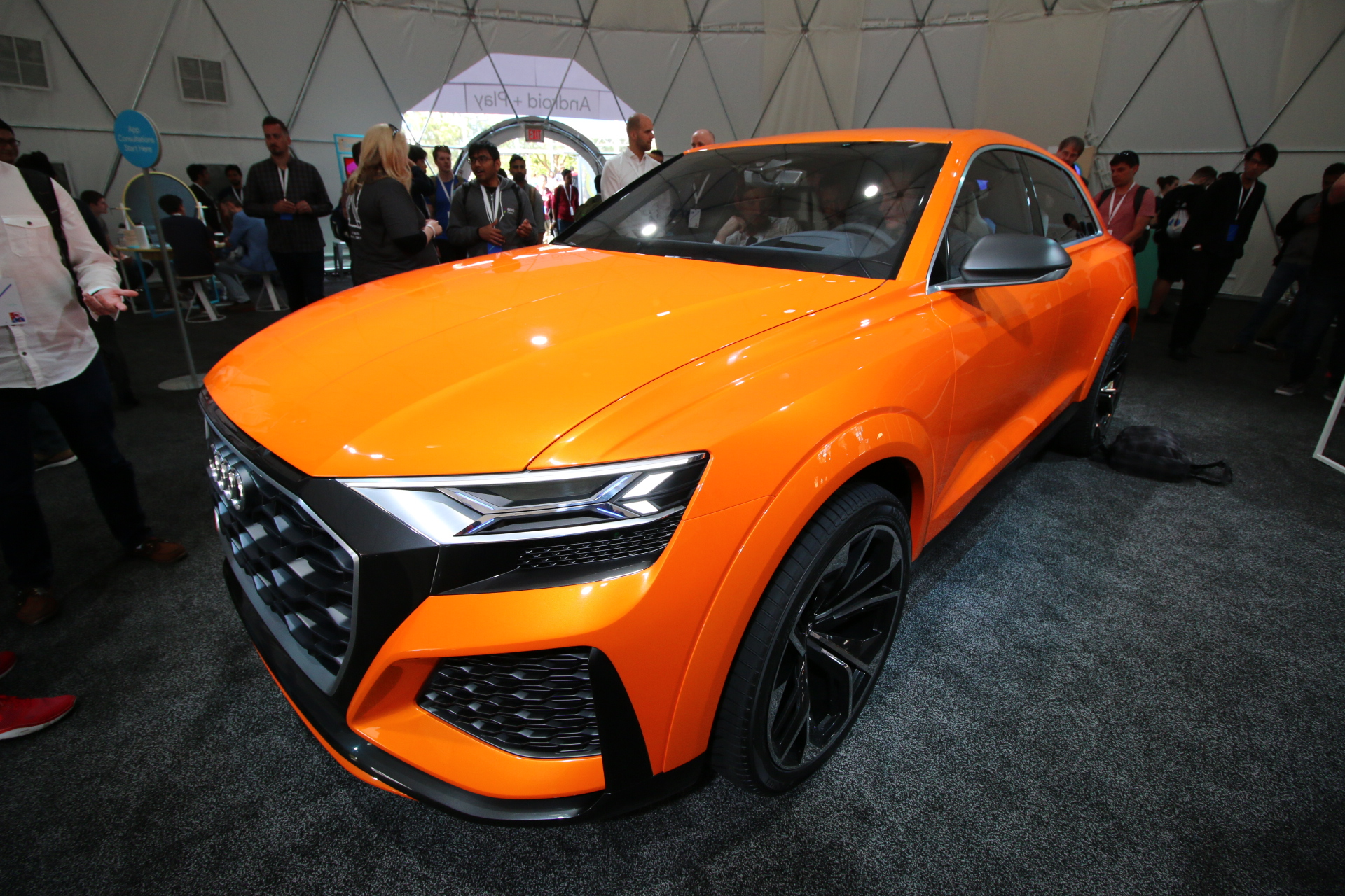 This Cool Audi Concept Car Has Android Fully Integrated VIDEO - Google audi car