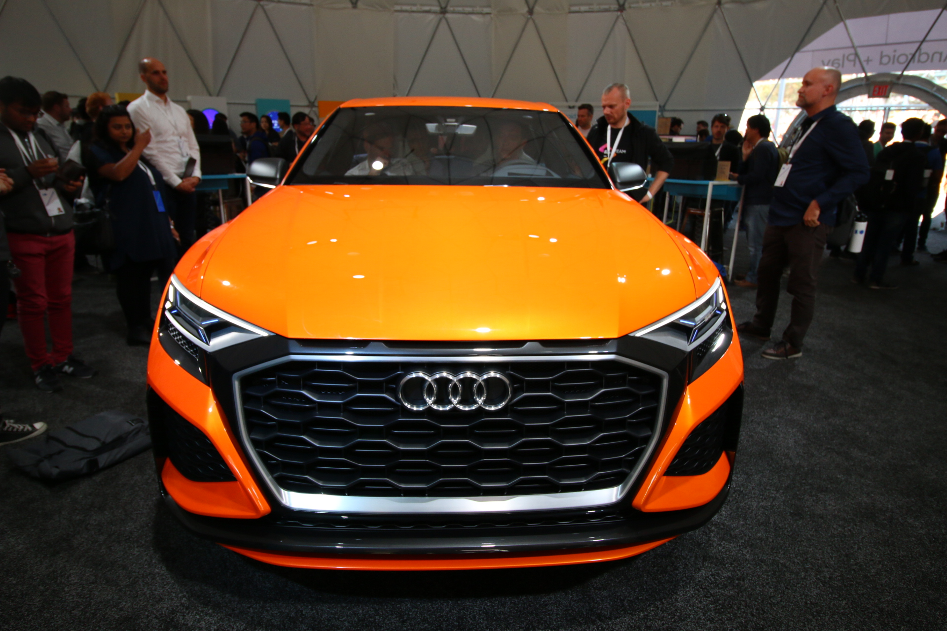 This Cool Audi Concept Car Has Android Fully Integrated