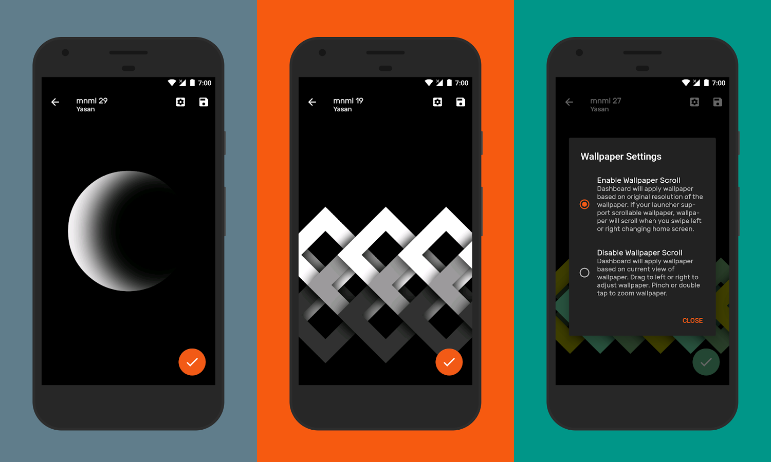 AMOLED Mnml Is An Open Source Cloud Based Wallpaper App With Lots Of Minimalistic Wallpapers Designed For Displays