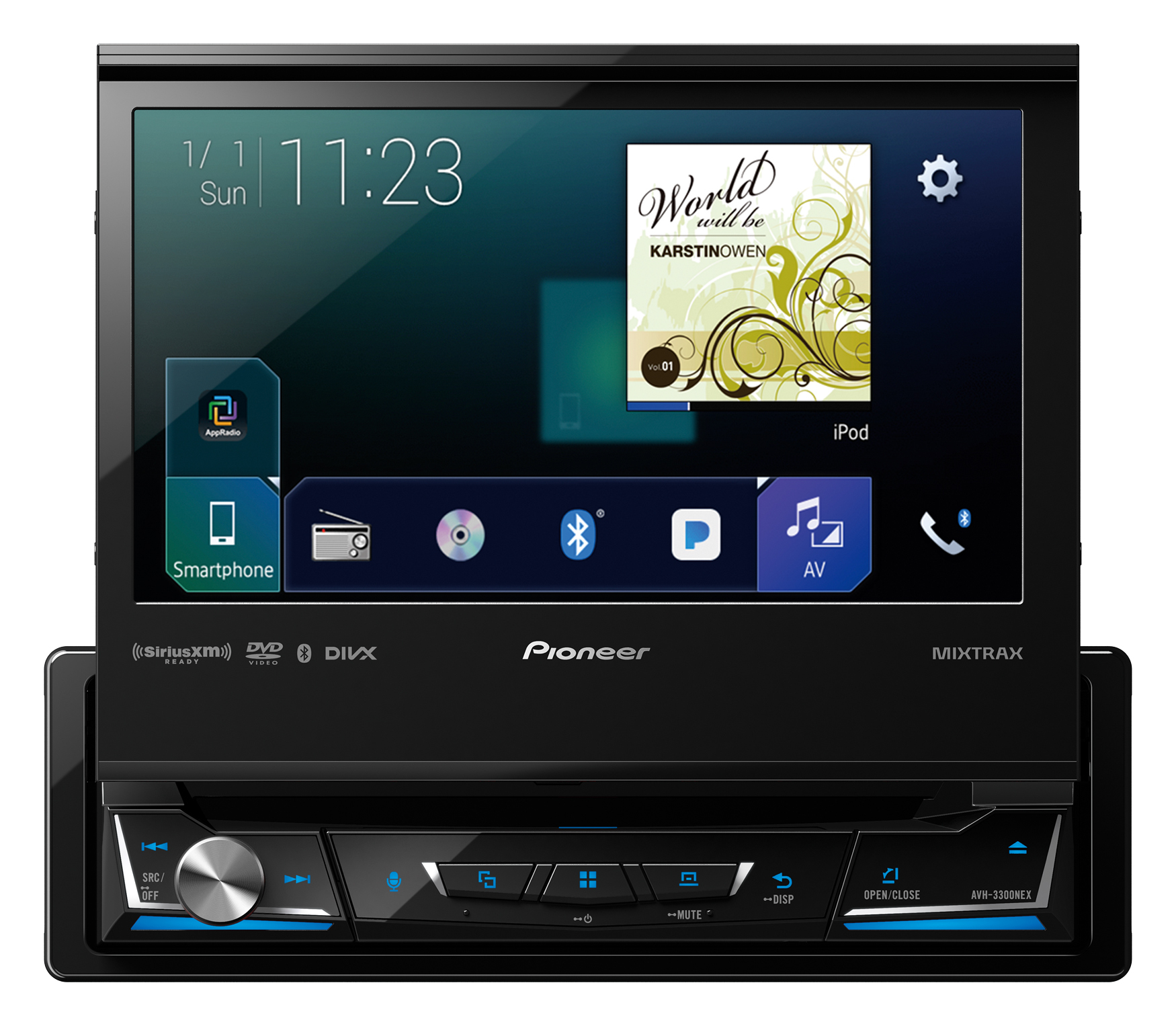 pioneer refreshes nex android auto lineup for 2017. Black Bedroom Furniture Sets. Home Design Ideas