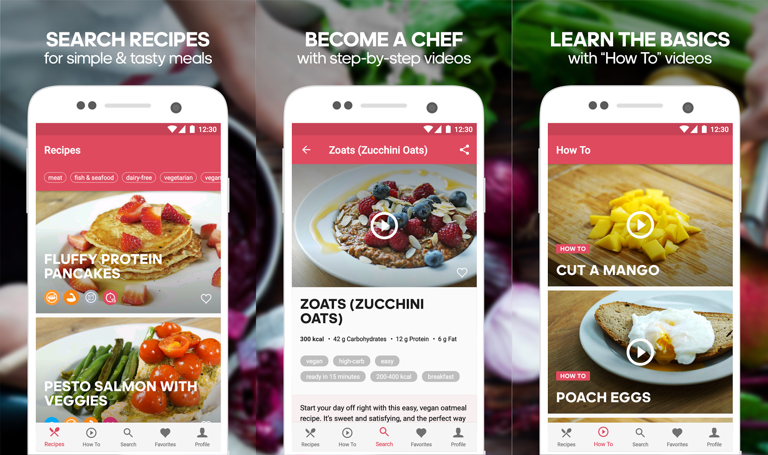 25 best android apps may 2017 its your complete healthy food recipes book right on your phone pop open your runtasty cooking recipes app and head to the market forumfinder Gallery