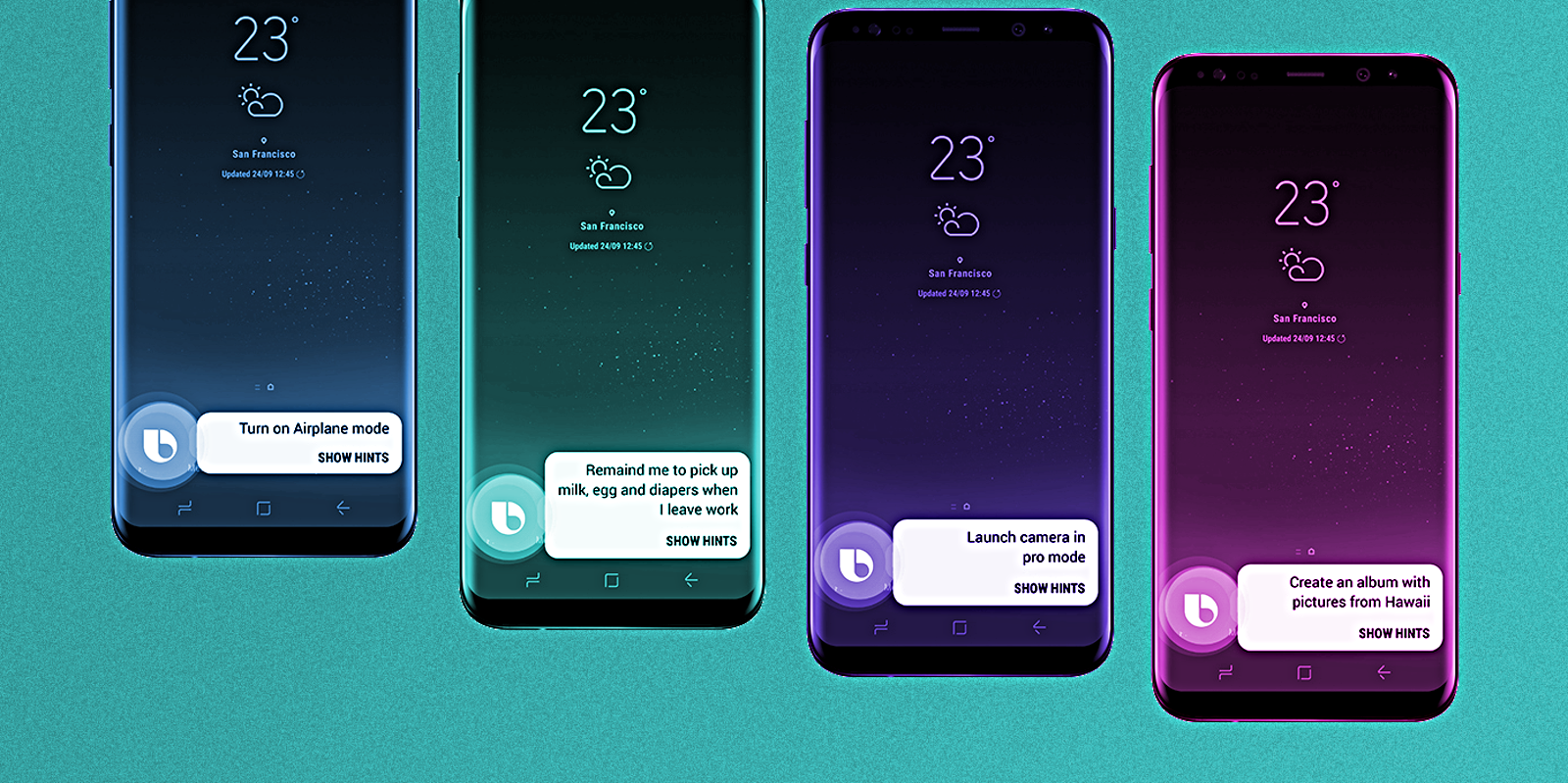 Full List Of Bixby Voice Commands For Galaxy S8 Amp S8