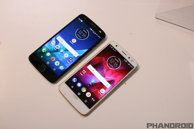 motorola z2 force. the moto z2 force was unveiled in new york last week, but motorola hasn\u0027t had an easy time with phone since it debuted. small battery size and