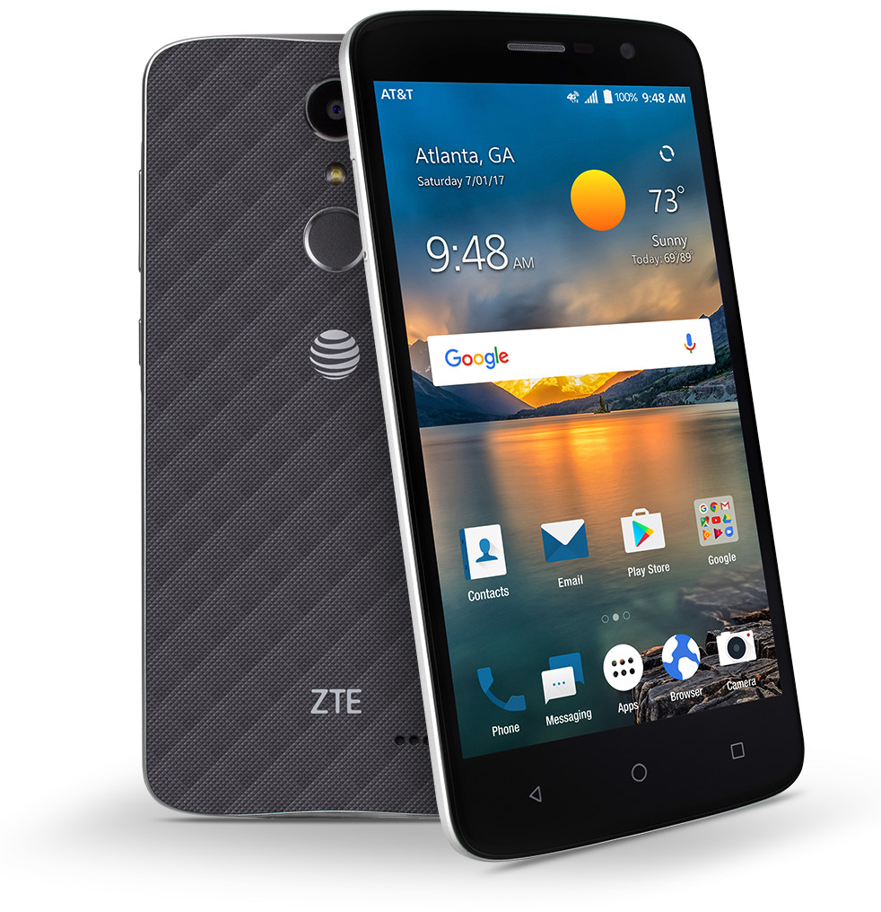 Zte Blade Spark Is A 99 Phone On At Amp T Prepaid
