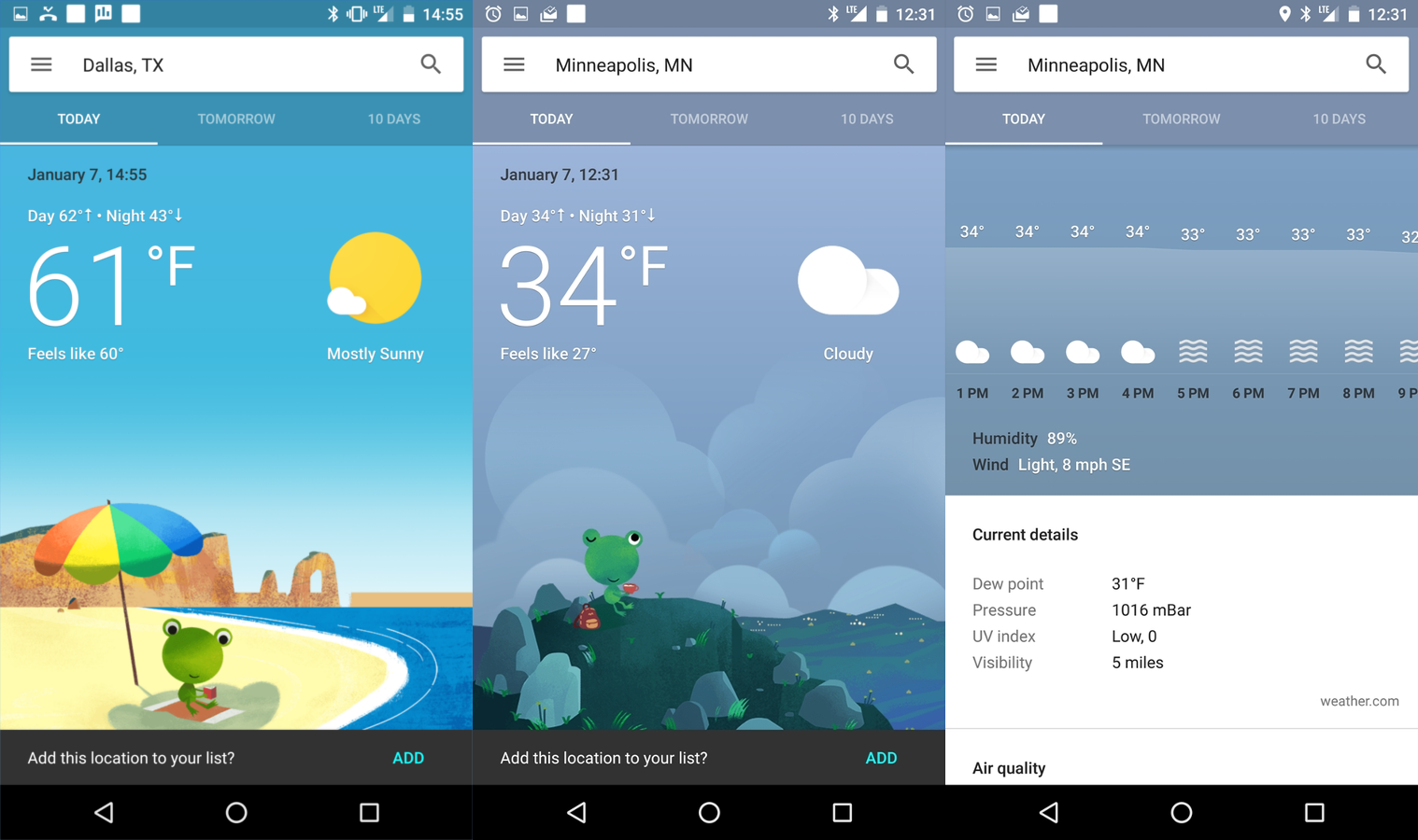 10 Best Weather Apps For Android In 2017