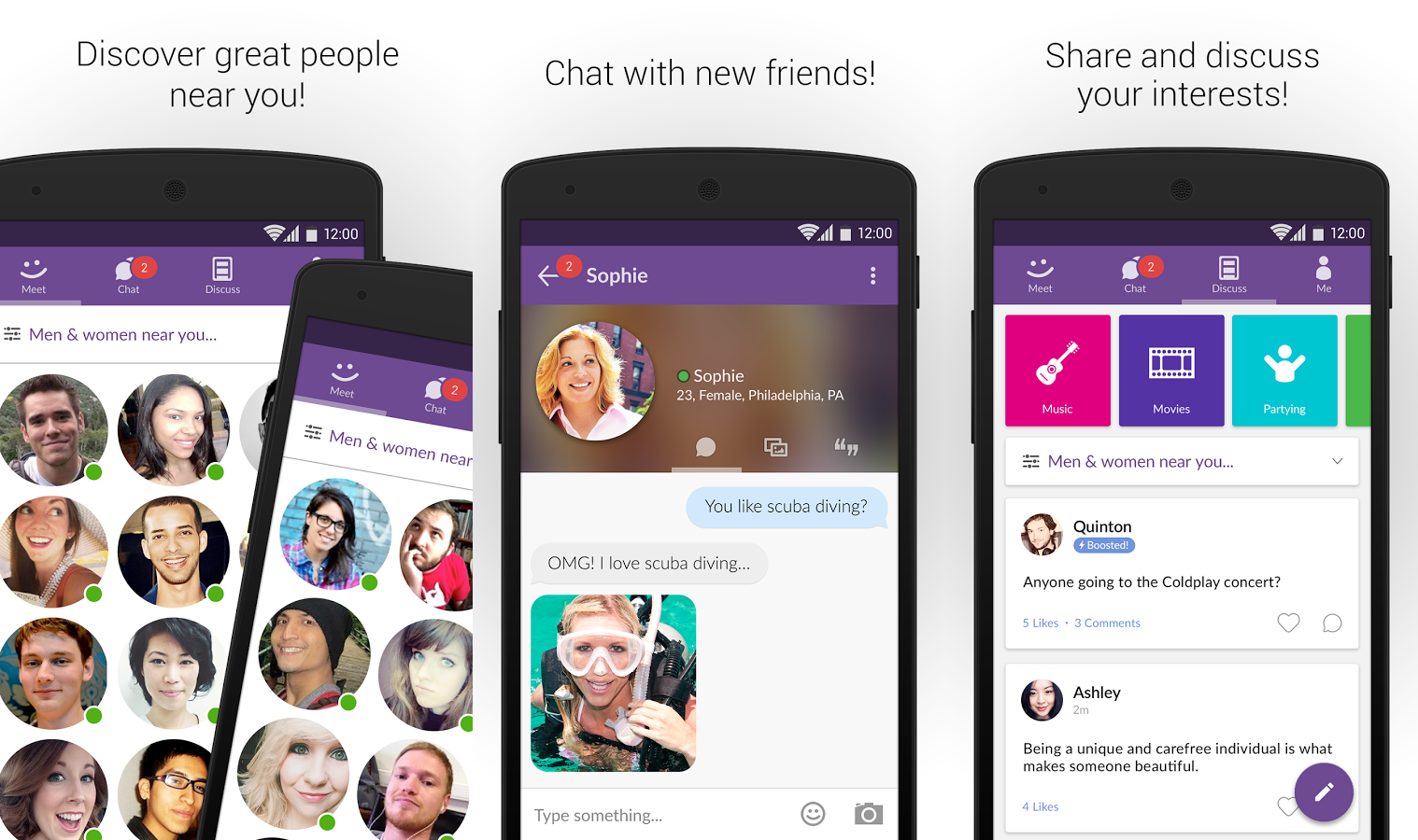 Best dating chat apps for android