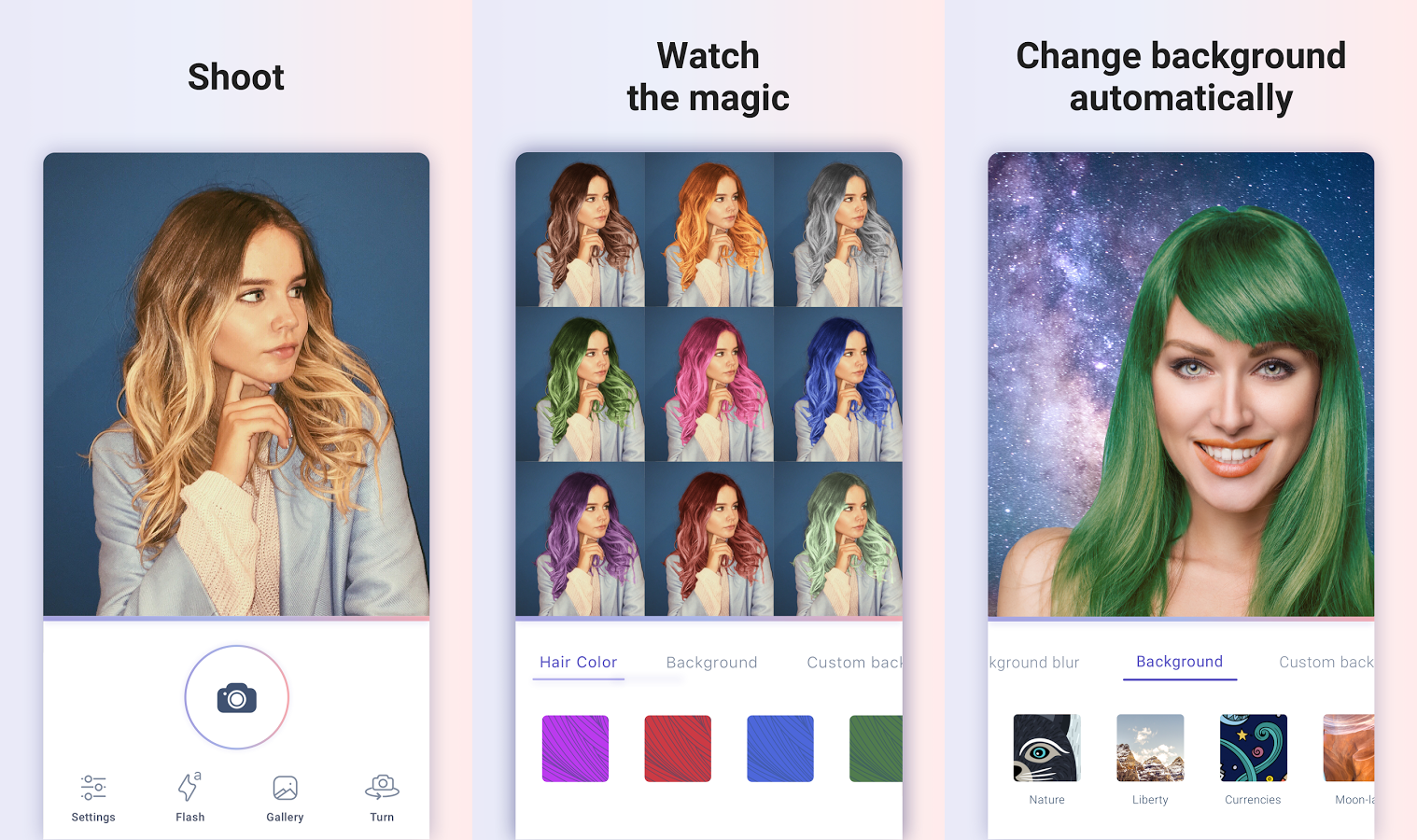 Best Android Apps Of The Week August - Hairstyle colour app