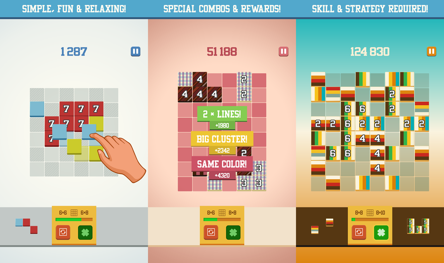 30 Best New Android Games August 2017 Block Diagram Unlucky 13 Is An Endless Game Created For Puzzle Lovers Of All Ages Give Yourself A Challenge Stay Mentally Fit And Unwind At The Same Time