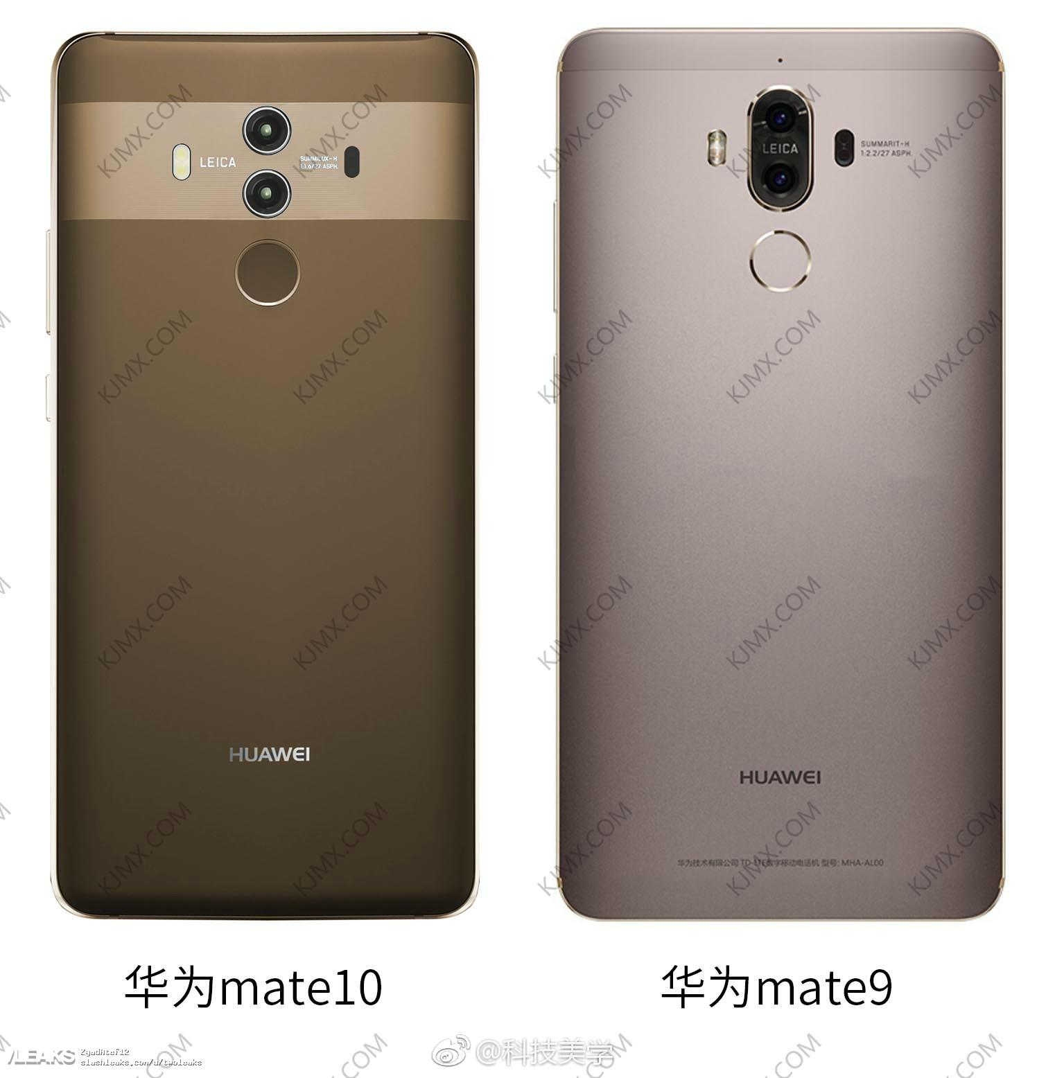 Here S What The Huawei Mate 10 Looks Like Next To Last