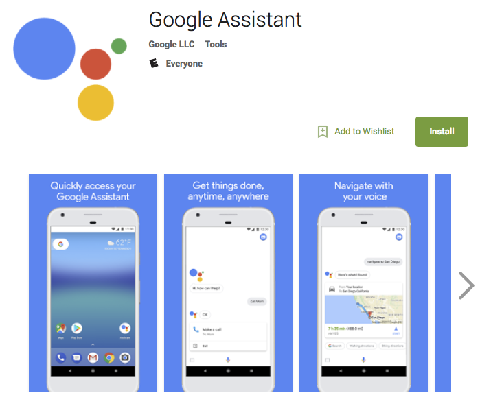 Google Assistant Now Available For Download On The Play Store