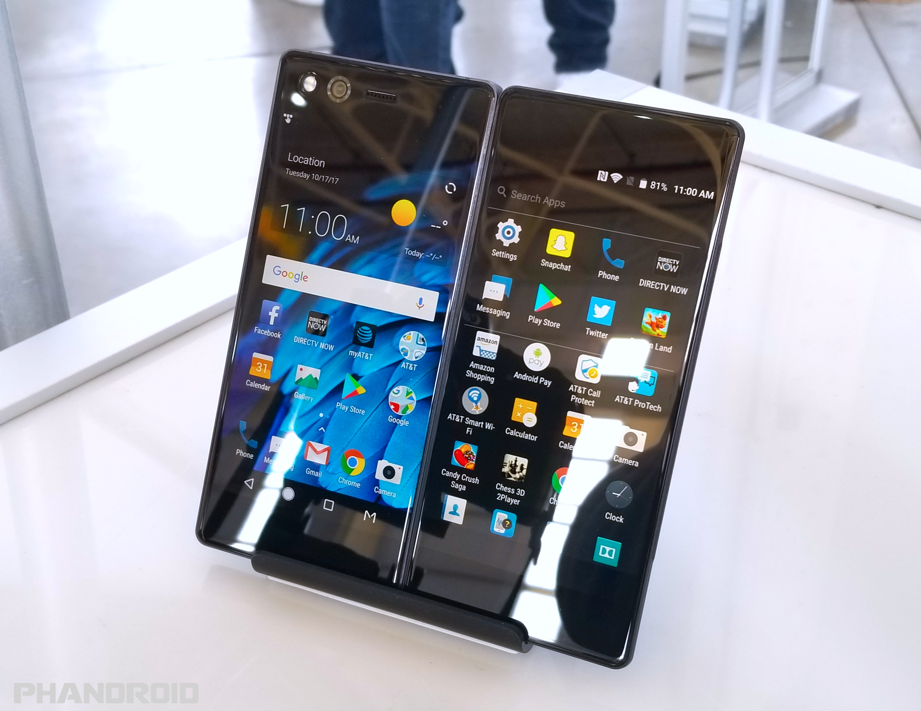 ZTE Axon M is a foldable smartphone with 2 screens