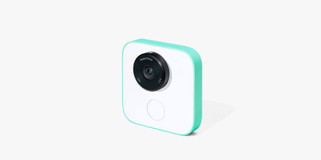 Google Clips is a smart camera that takes photos for you