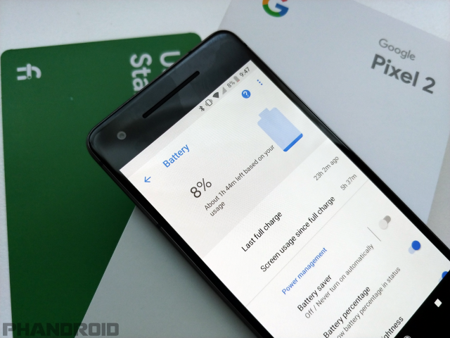 Pixel 2 Battery Life First 24 Hours