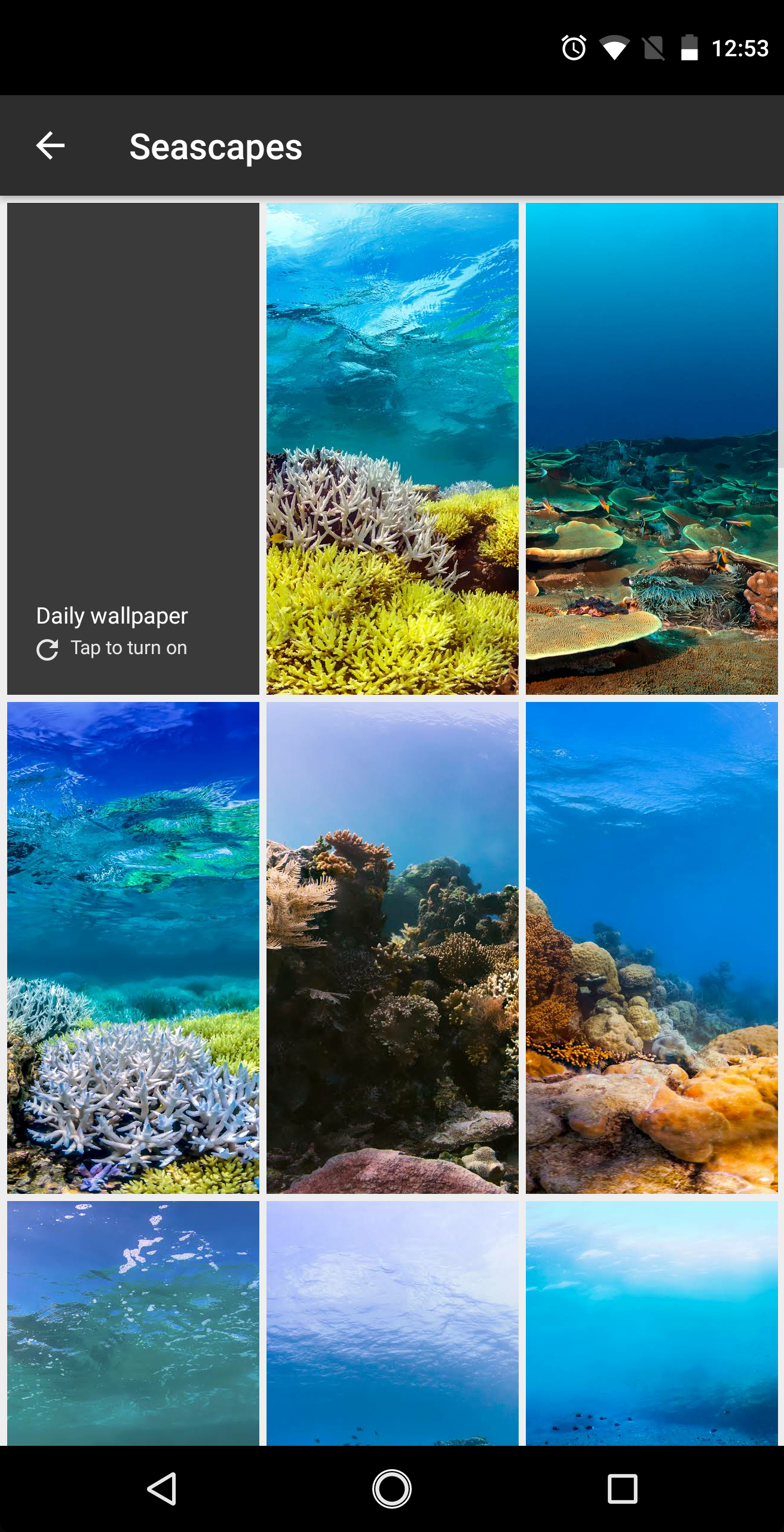 google wallpapers adds 34 seascapes walls for non pixels