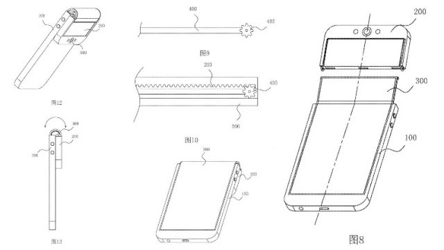 this oppo foldable smartphone patent is crazy