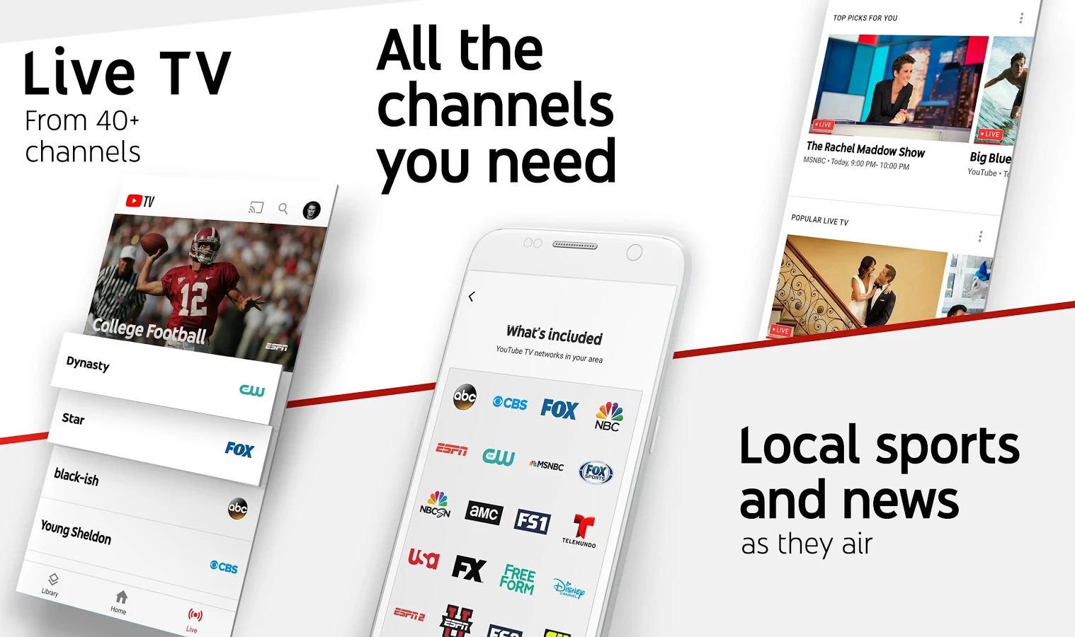 YouTube TV won't be coming to Roku or the Apple TV until 2018