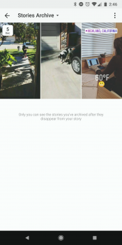 How to use instagrams highlight feature to pin stories to your tap the archive tab to view saved stories and add them to your highlight ccuart Choice Image
