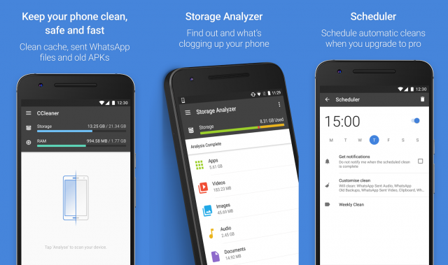 how to clean up files on android phone
