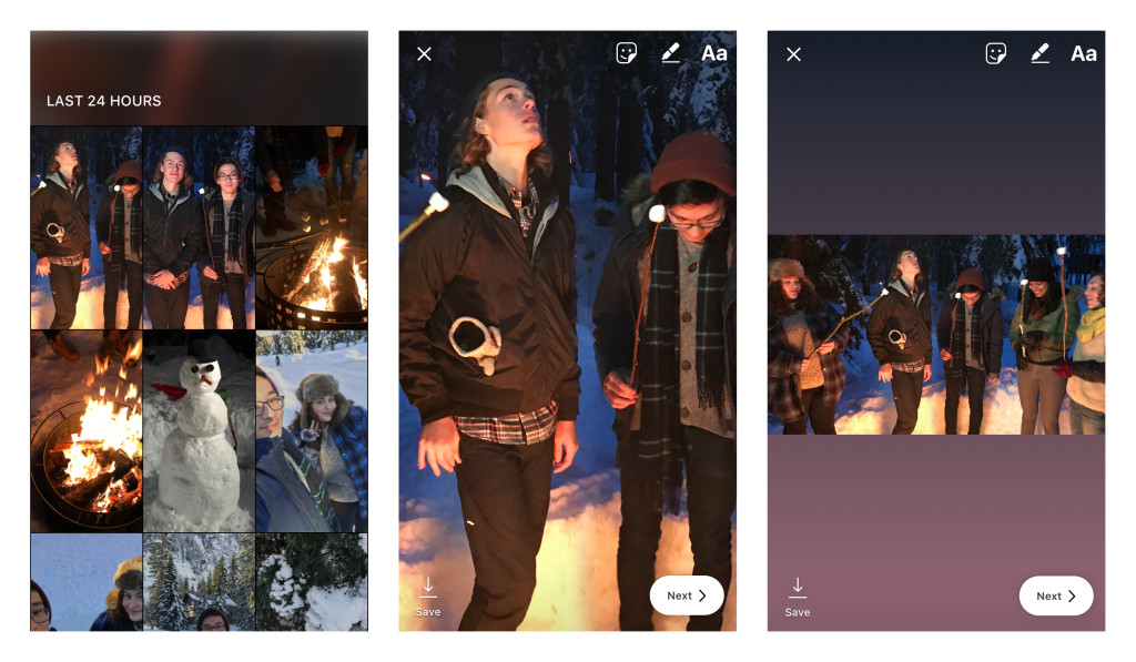 Instagram stories adds gif stickers no longer crops photos arguably more important however is the ability to upload photos in any orientation to your story previously photos uploaded would zoom in to fill the ccuart Image collections