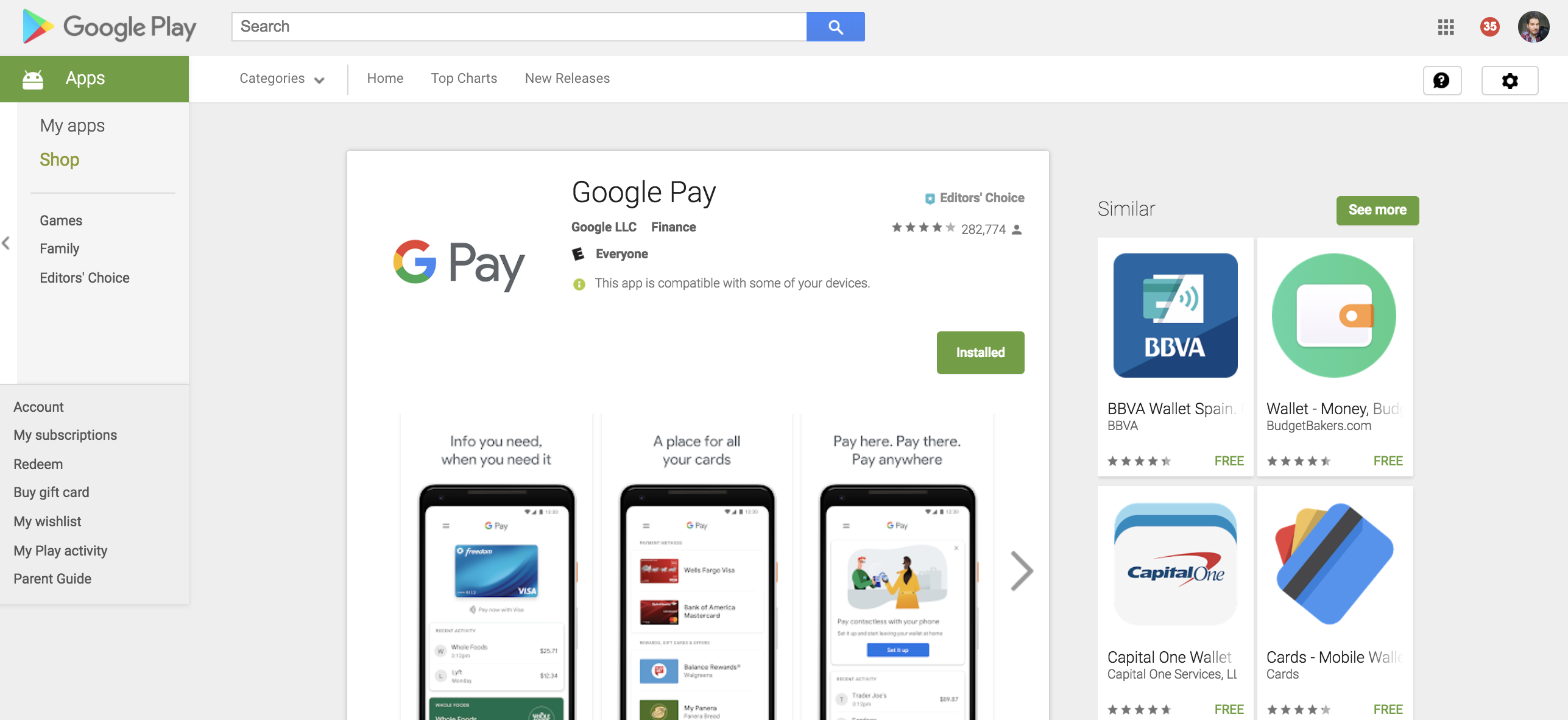 Google Pay is officially rolling out today