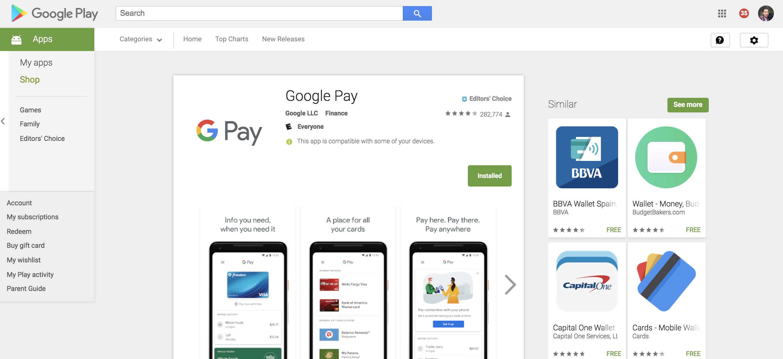 Google Pay Online Casino