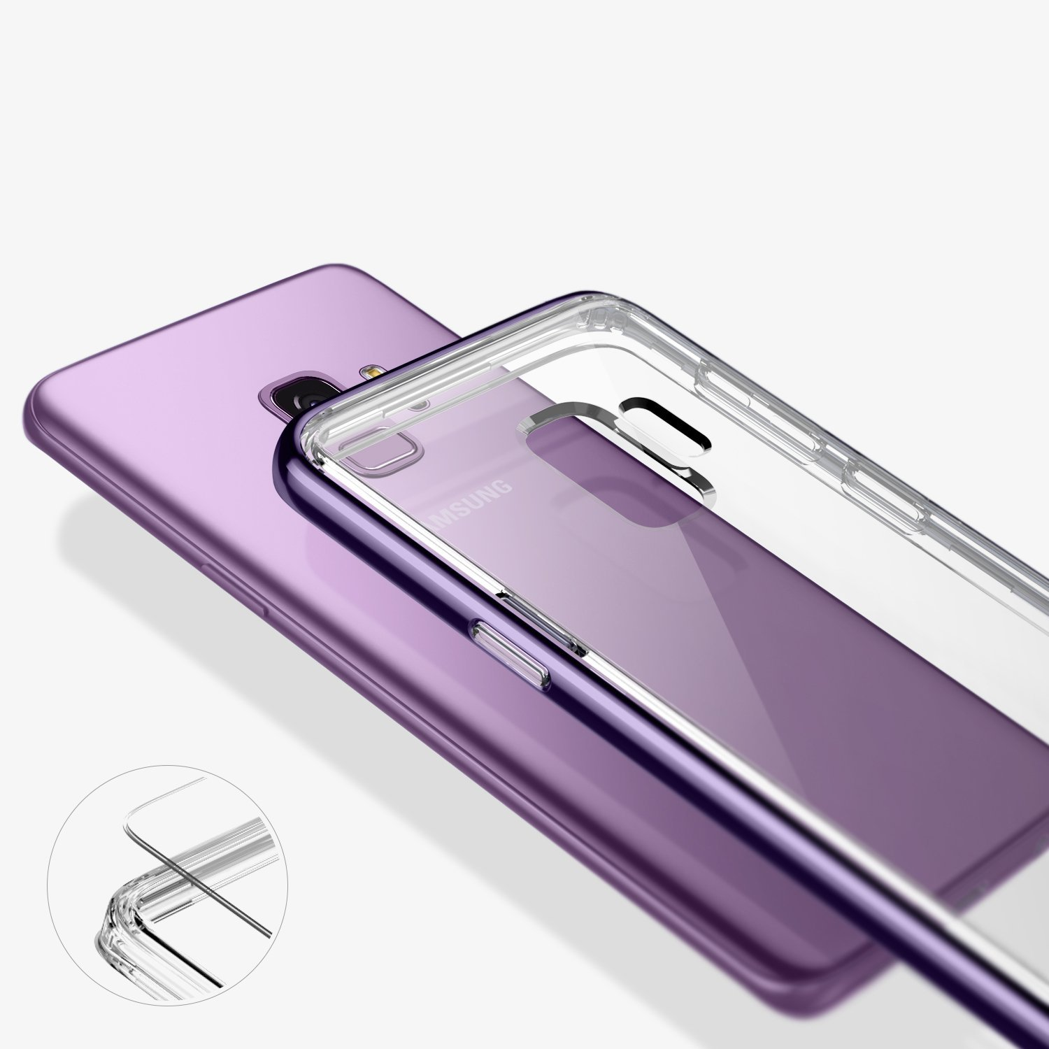7 Samsung Galaxy S9 Cases You Can Buy Today Spigen Thin Fit Note 5 Hardcase Tipis Original Best For Showing Off Caseology Skyfall